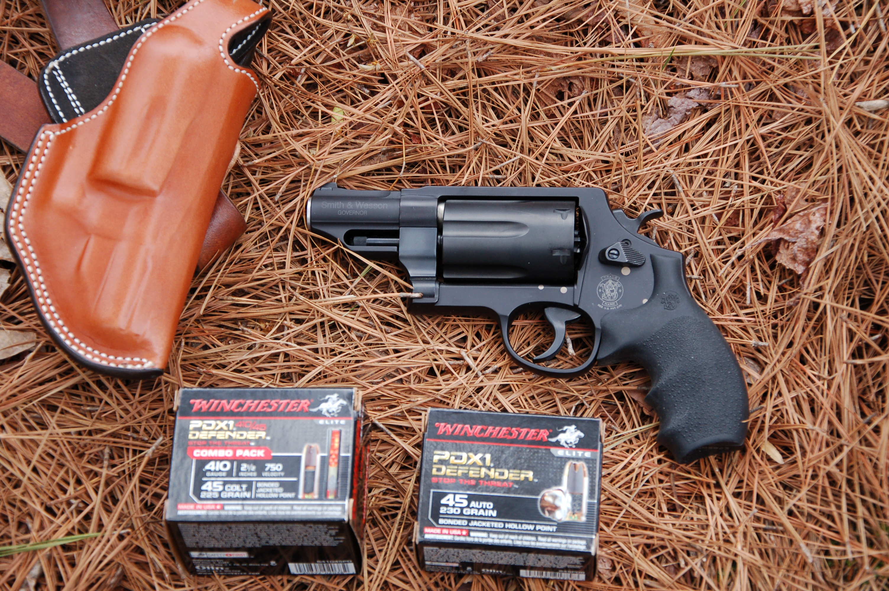 S&W Governor: A Solid Bug-out Handgun