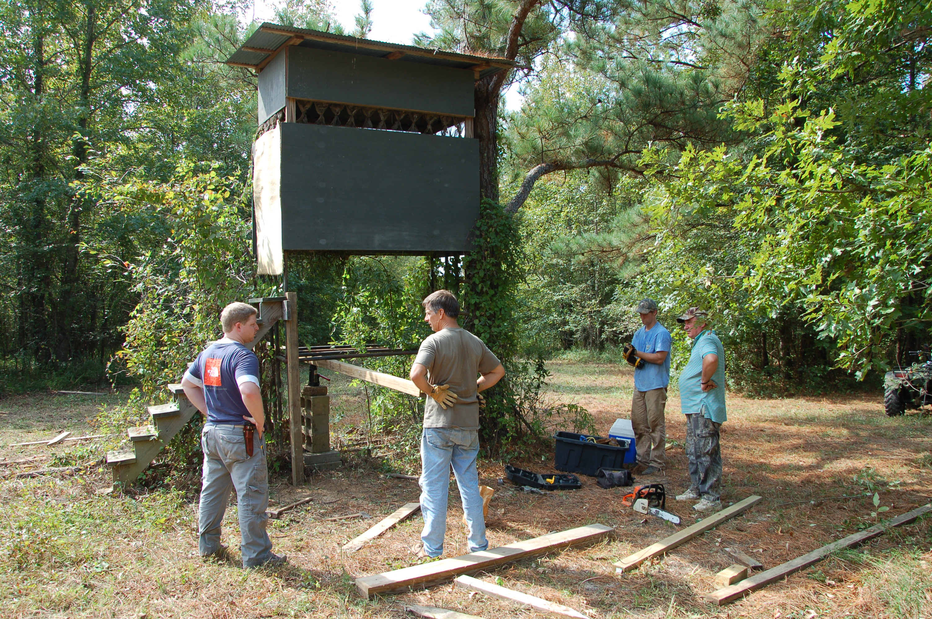 Hunting Camp Work – Refreshing Stands