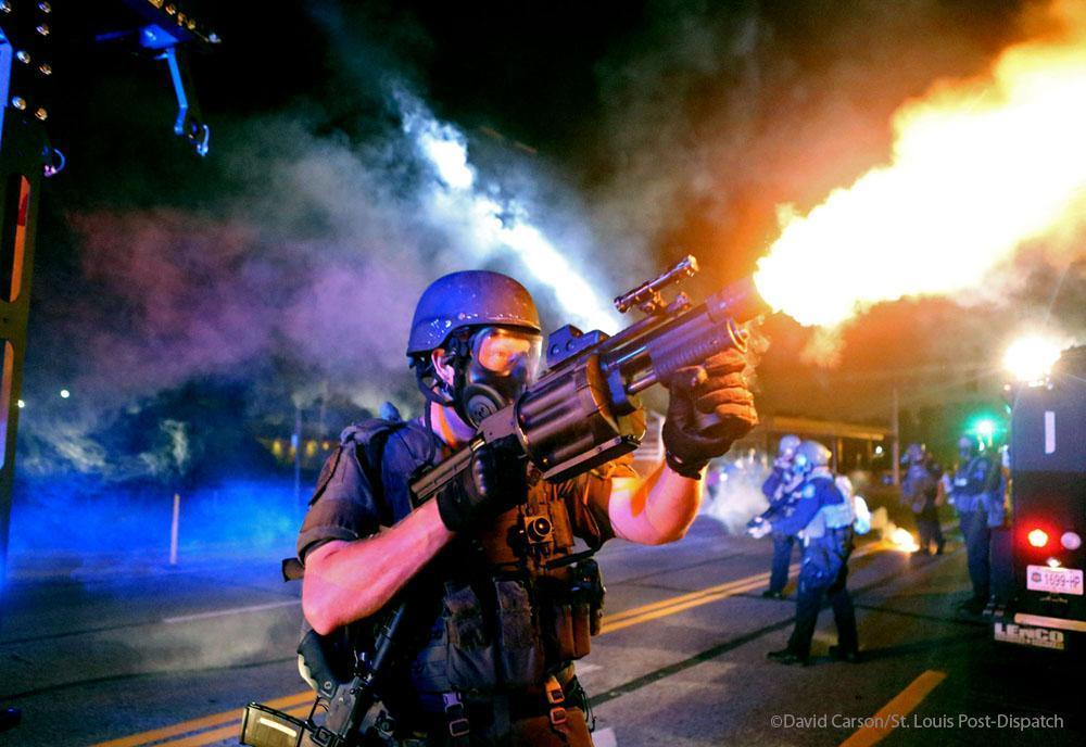 What Kinds of Guns Have Been Used in Ferguson?