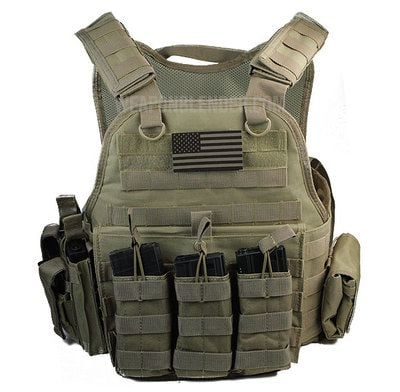 Proposed Body Armor Ban for American Citizens