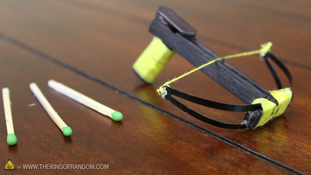 Video: Build This Super Awesome Tiny Crossbow
