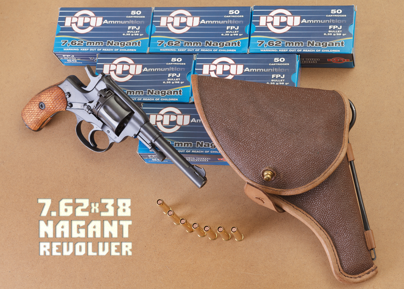 Nagant Revolver in Serious Use