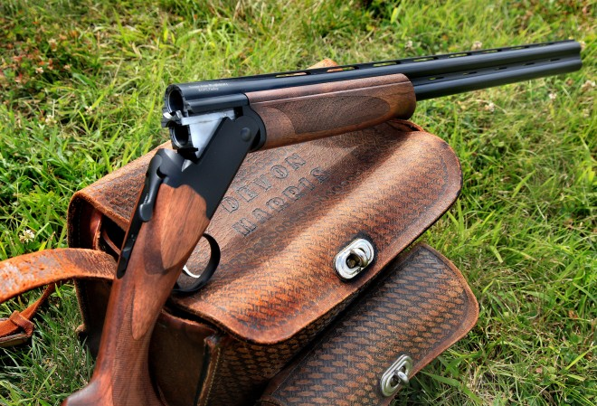 Stevens Model 555 12 Gauge Over/Under Shotgun, Open
