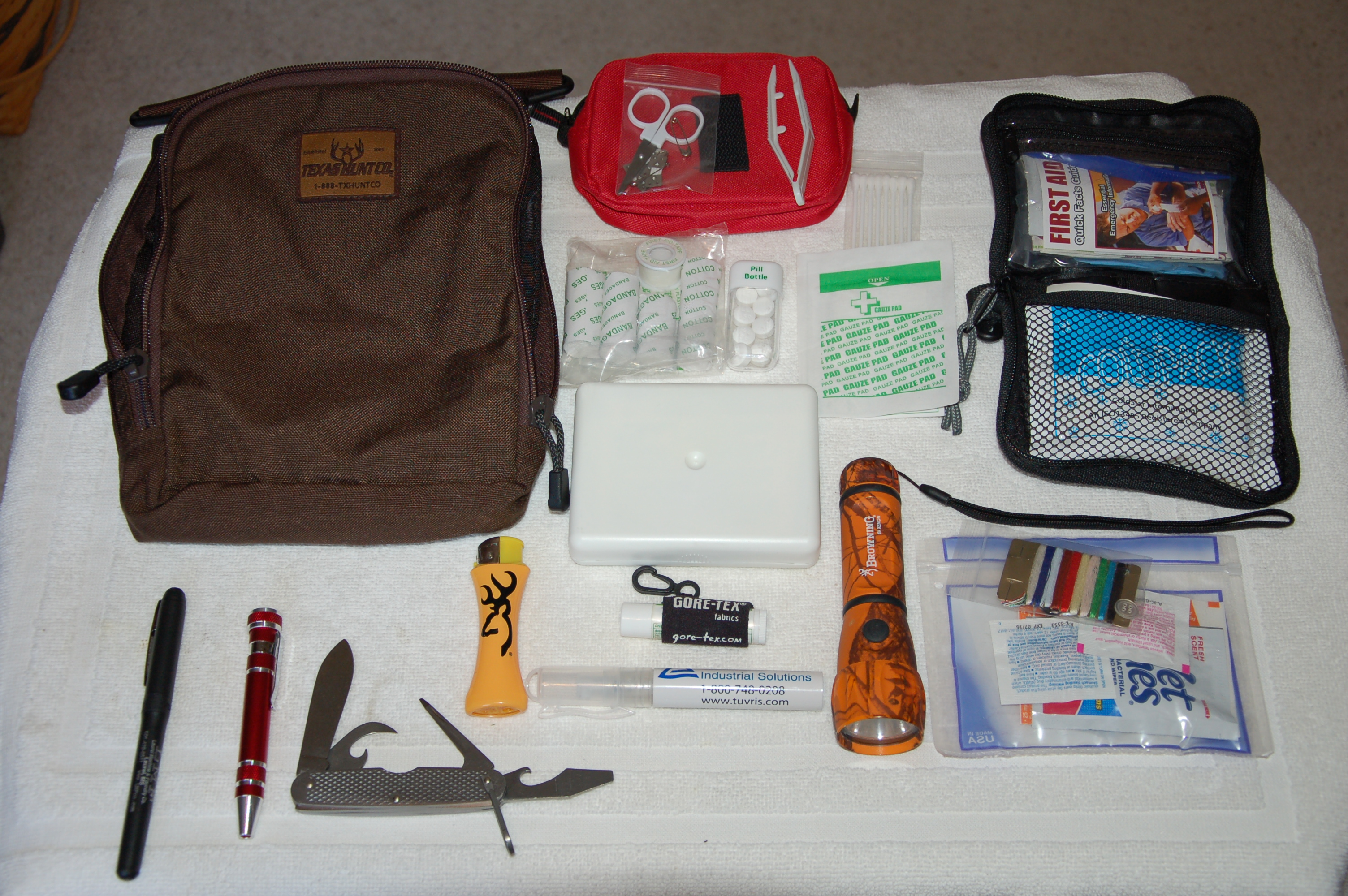 Putting Together a Road Travel Safety Bag