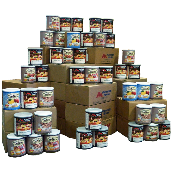 Deal Alert: One Year's Supply of Food (Mostly Mountain House) for $4,250.00