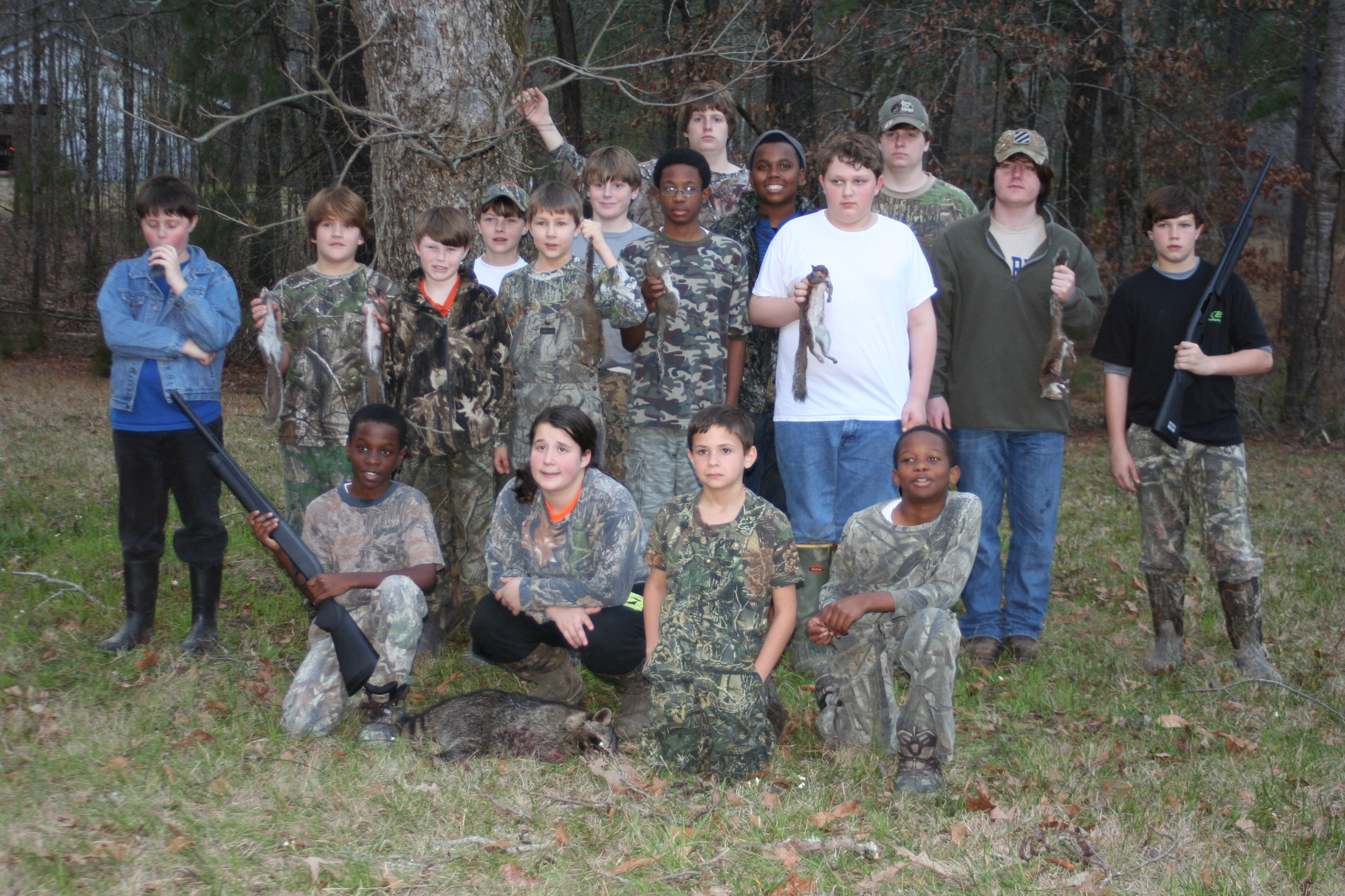Squirrel Hunting Revisited