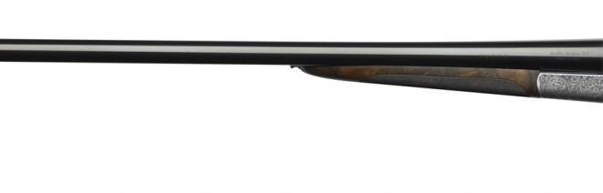 What's old is new again - Newson's 486 sports a tiny forend like many old-school scatterguns.