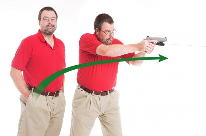 Draw time is only a fraction different from using a belt holster with a cover garment.
