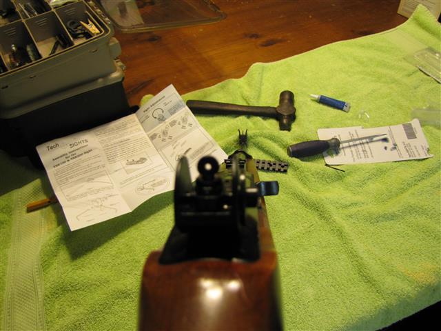 Installing Tech-Sight TSR200 on a Ruger 10/22