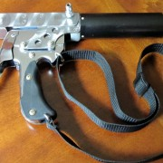 """K-441"" homemade 4-barrel handgun"