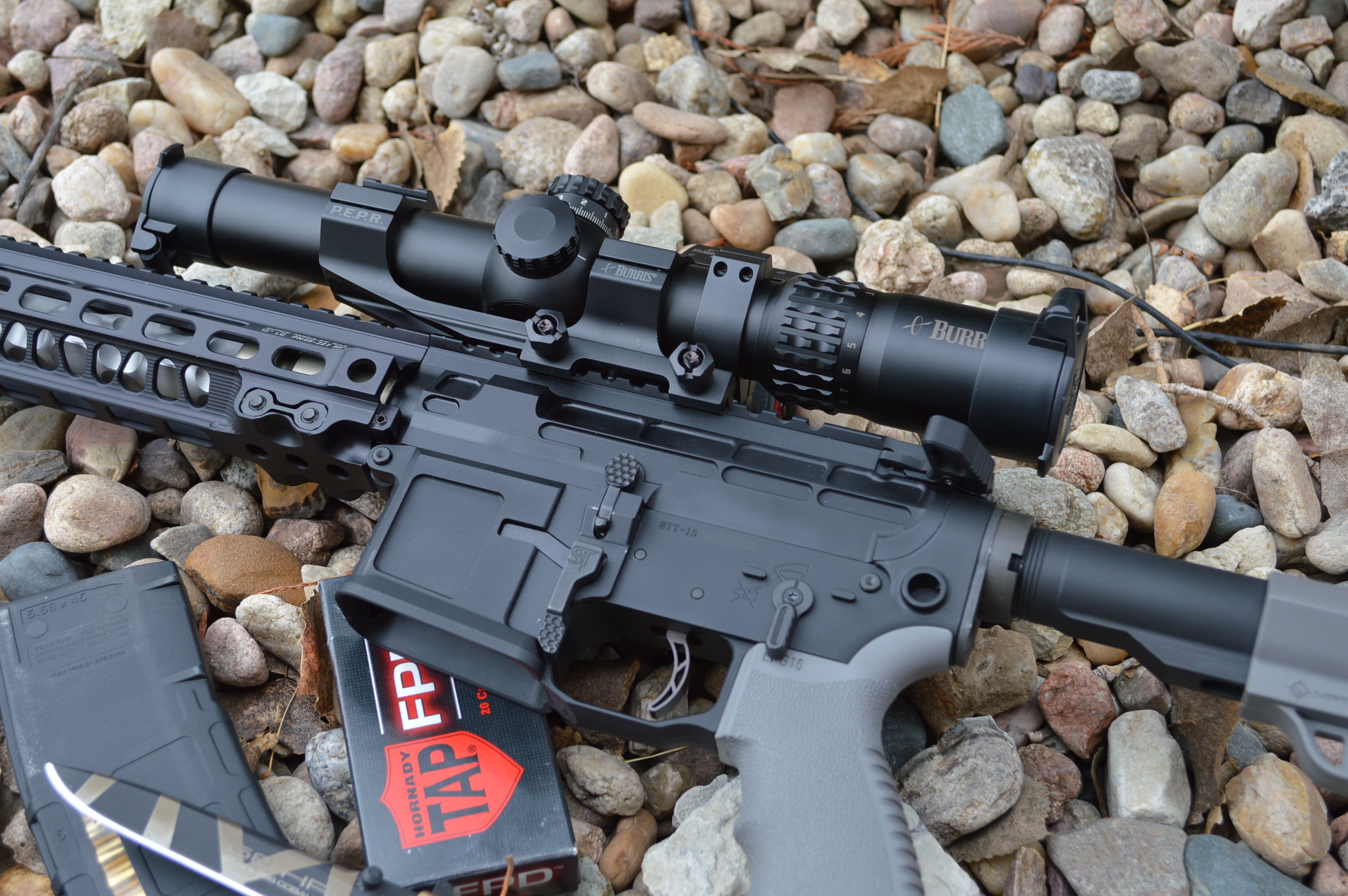 Review Burris Xtrii 15x 8x 34mm Scope And Fastfire 3 Red Dot Combo