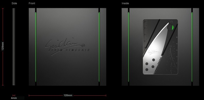 Each Cardsharp comes in a cool package the size of a CD or DVD case.