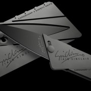 Cardsharp4 Folding Knife the Size of a Credit Card