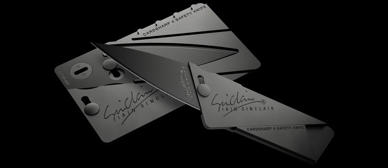 Cardsharp Aluminum and Stainless Steel Credit Card Knife
