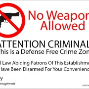 Gun-Free Zones are actually Unarmed Victim Zones
