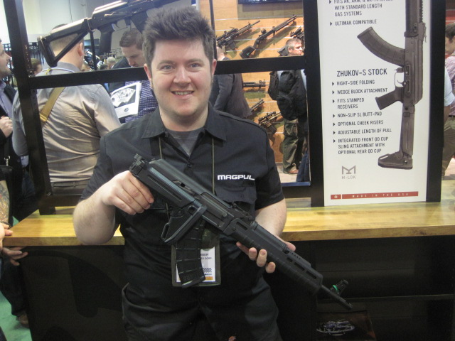 New Magpul AK Furniture Released at the 2015 SHOT Show