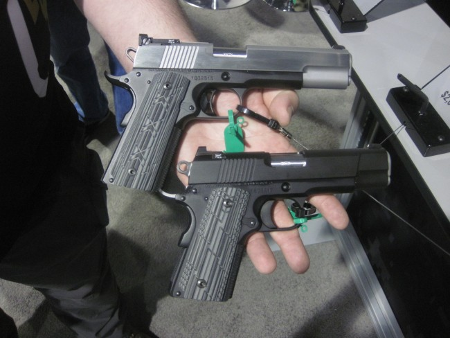 Two New Dan Wesson Pistols at  the 2015 SHOT Show