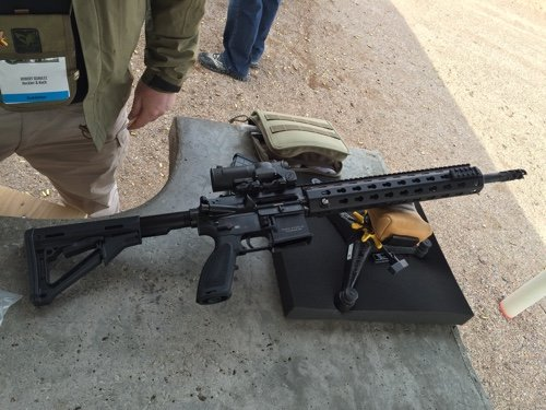 Hands-on with H&K's MR556A1 Competition Rifle