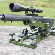 The HYSKORE Track and Elevate Varmit Rest is perfect for Prairie Dog shooting and similar hunting.
