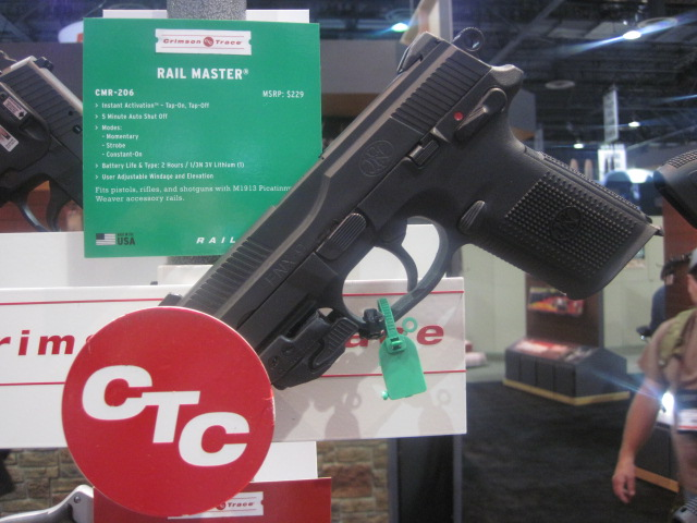 New Crimson Trace Products at the 2015 SHOT Show