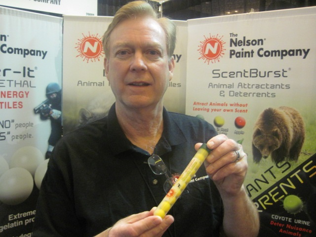 "Nelson Paint Company's ""ScentBurst"" Products Attract Game in the Field"
