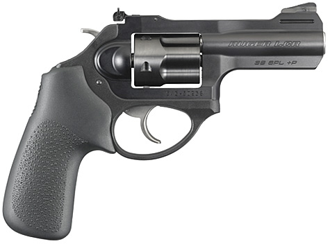 The Ruger LCRx .38 +P revolver.