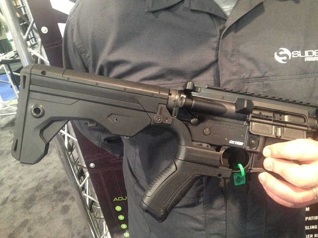 New Slide Fire Stocks for the AK and AR at the 2015 SHOT Show