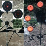 Target Tripod (left) and Star Target Stand (right)