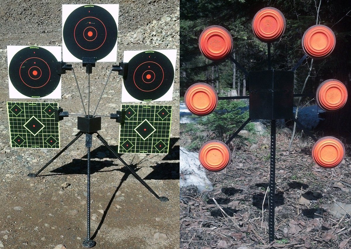 Unique Target Holders by Downrange Fabrications, Inc