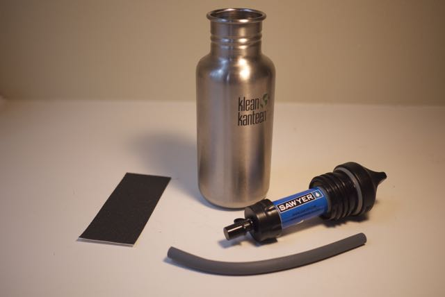 Hacking a Kleen Kanteen with a Sawyer Water Filter