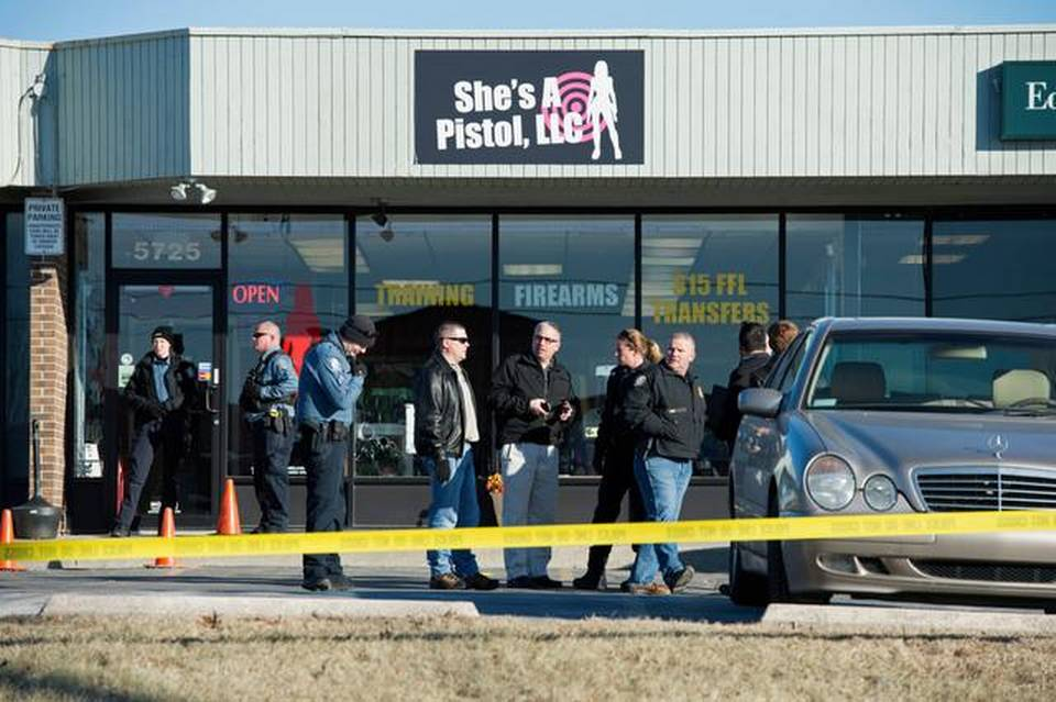 "Shootout at Women's Gun Shop ""She's a Pistol"" Leave One Dead, Several Injured"