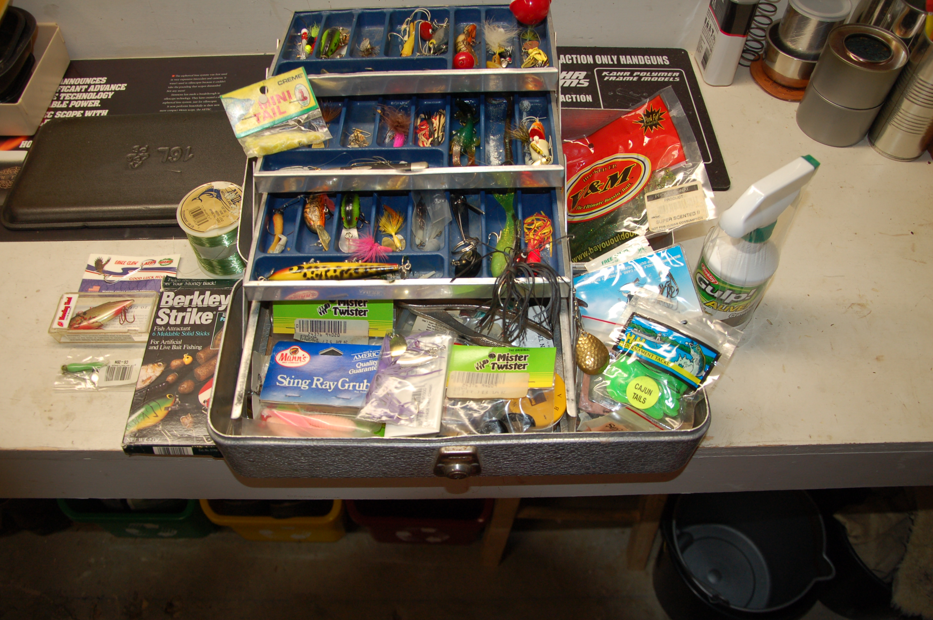 Fishing Tackle Prep