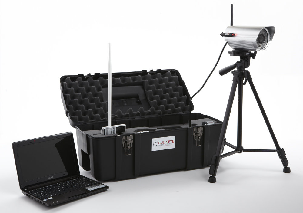 The Bullseye Long Range Elite system even includes a new laptop computer.