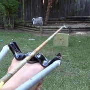 Homemade PVC Slingshot Bow or Slingbow