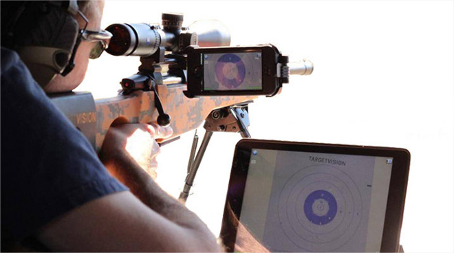 TargetVision WiFi Spotting Scope Camera Lets You See Your Shots Instantly