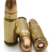 Surplus 7.62x25mm FMJ ammunition: corrosive, flashy and punchy.