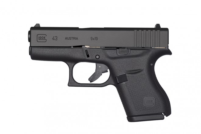 The New Glock 43: Subcompact Single-Stack 9mm
