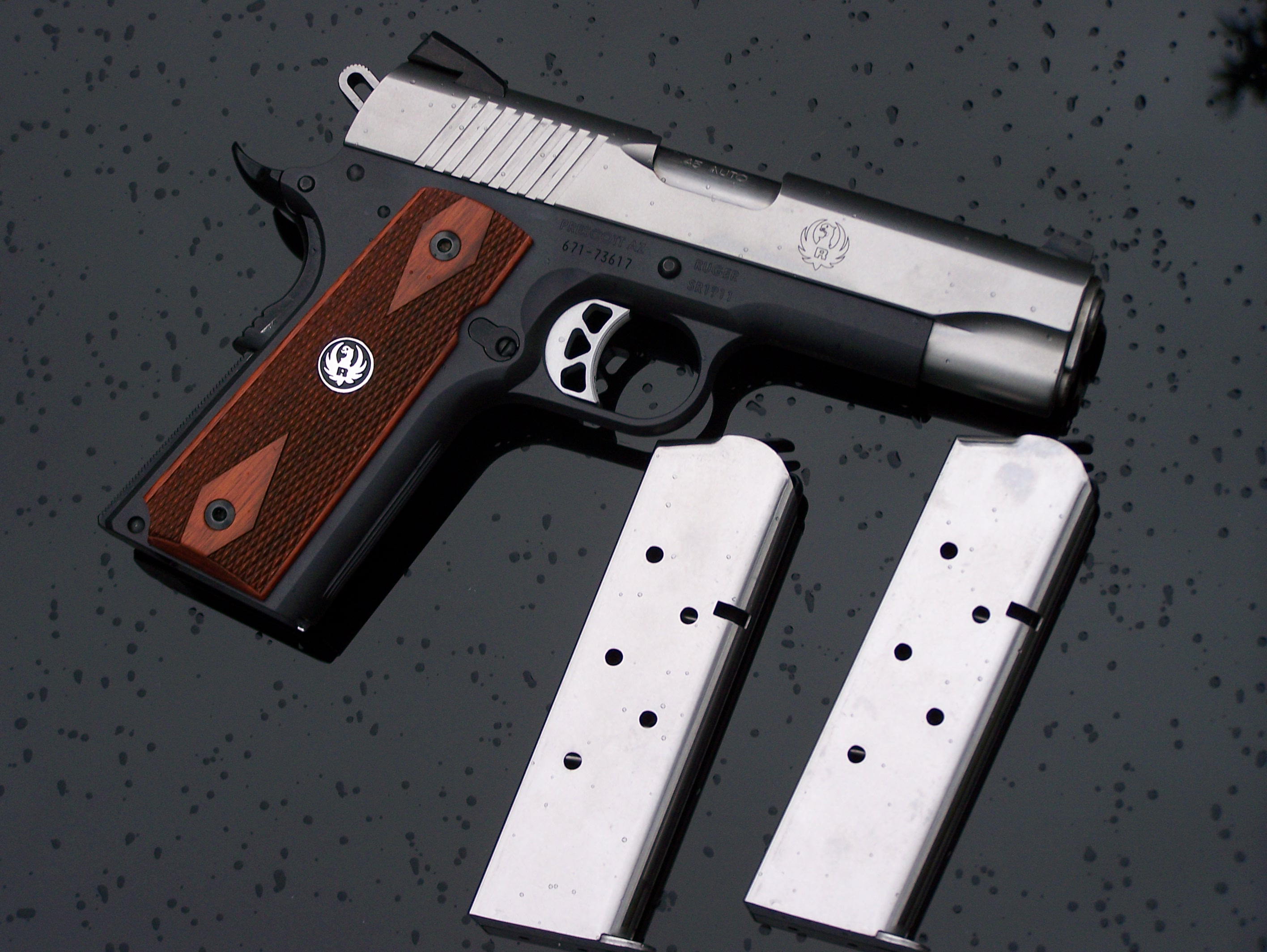 "Review: Ruger's SR 1911C Light-Weight ""Commander"""