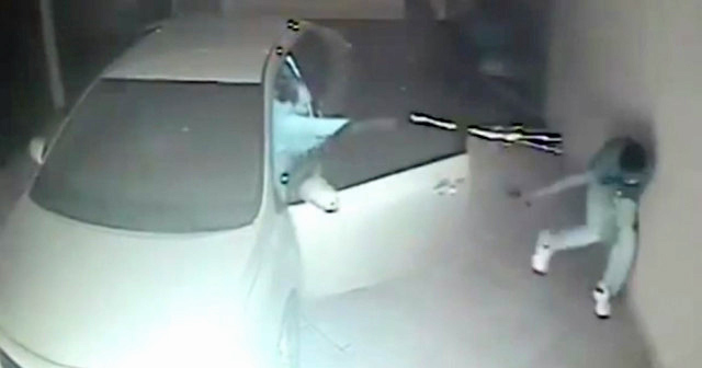 Video: Brazilian Bad Guys Break Into the Wrong Garage