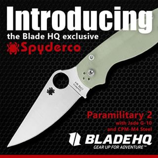 One to Watch: Blade HQ Spyderco Paramilitary 2 Exclusive