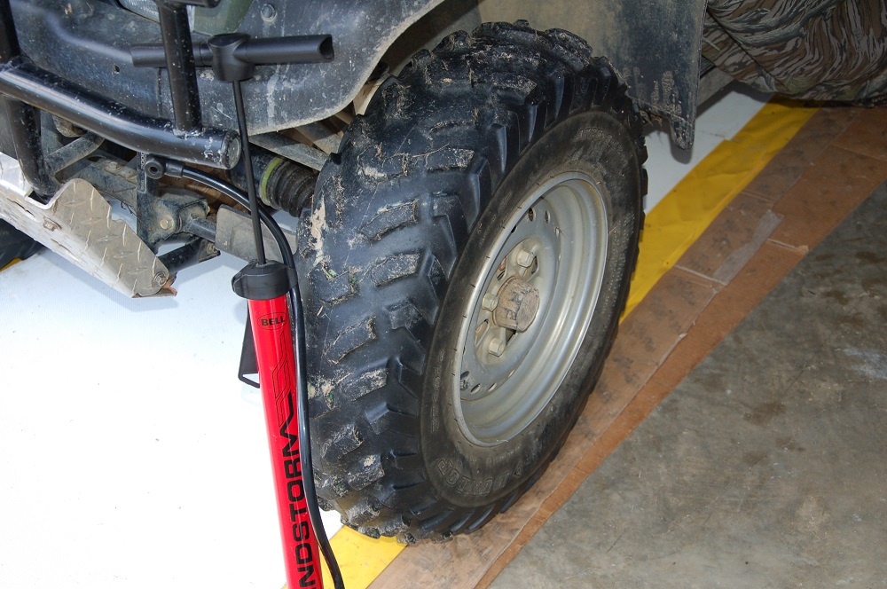 Be Sure to Inspect ATV Tires before SHTF