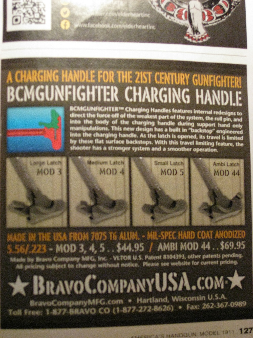 Variations in AR Charging Handles