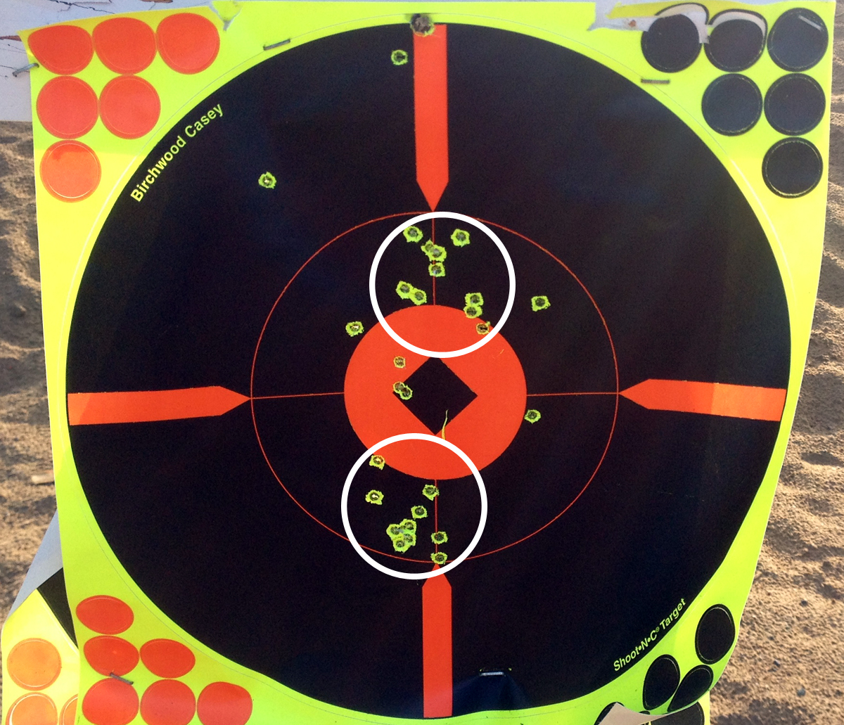 100-Yard Target Shot With Savage A17