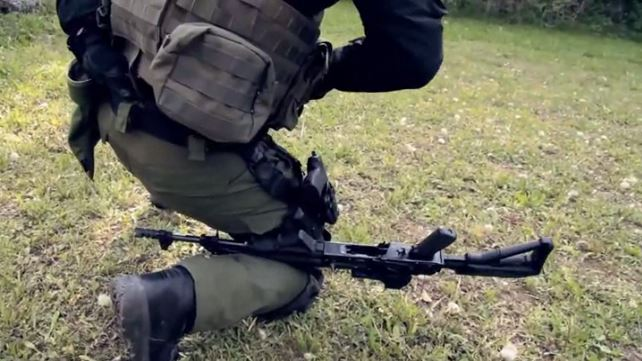 Be Amazed: How to Reload an AK-47 With an Injured Arm