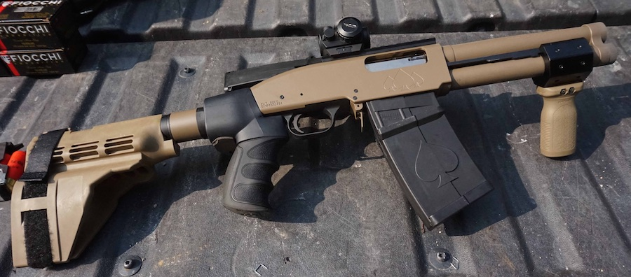 Black Aces DT-12: an 8.5″-Barreled 12 Gauge with no NFA Paperwork