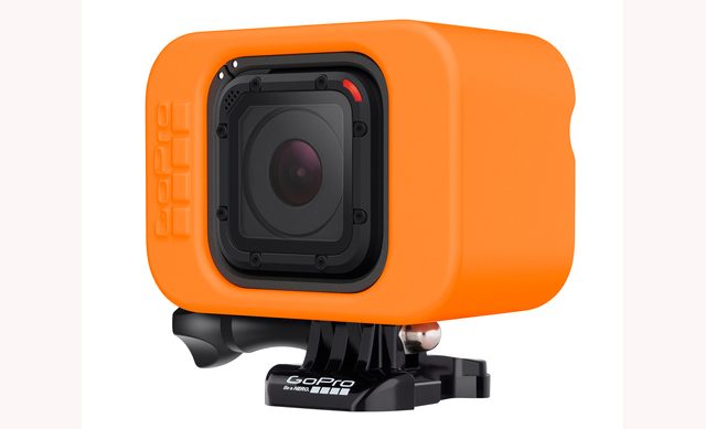 GoPro Hero4 Session with new Floaty device