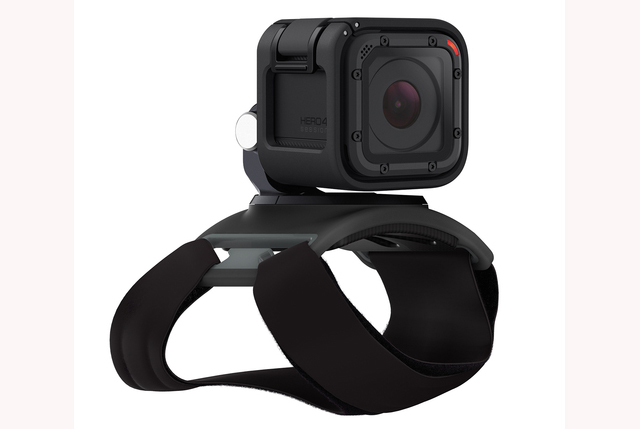 GoPro Hero4 Session with new Strap mount