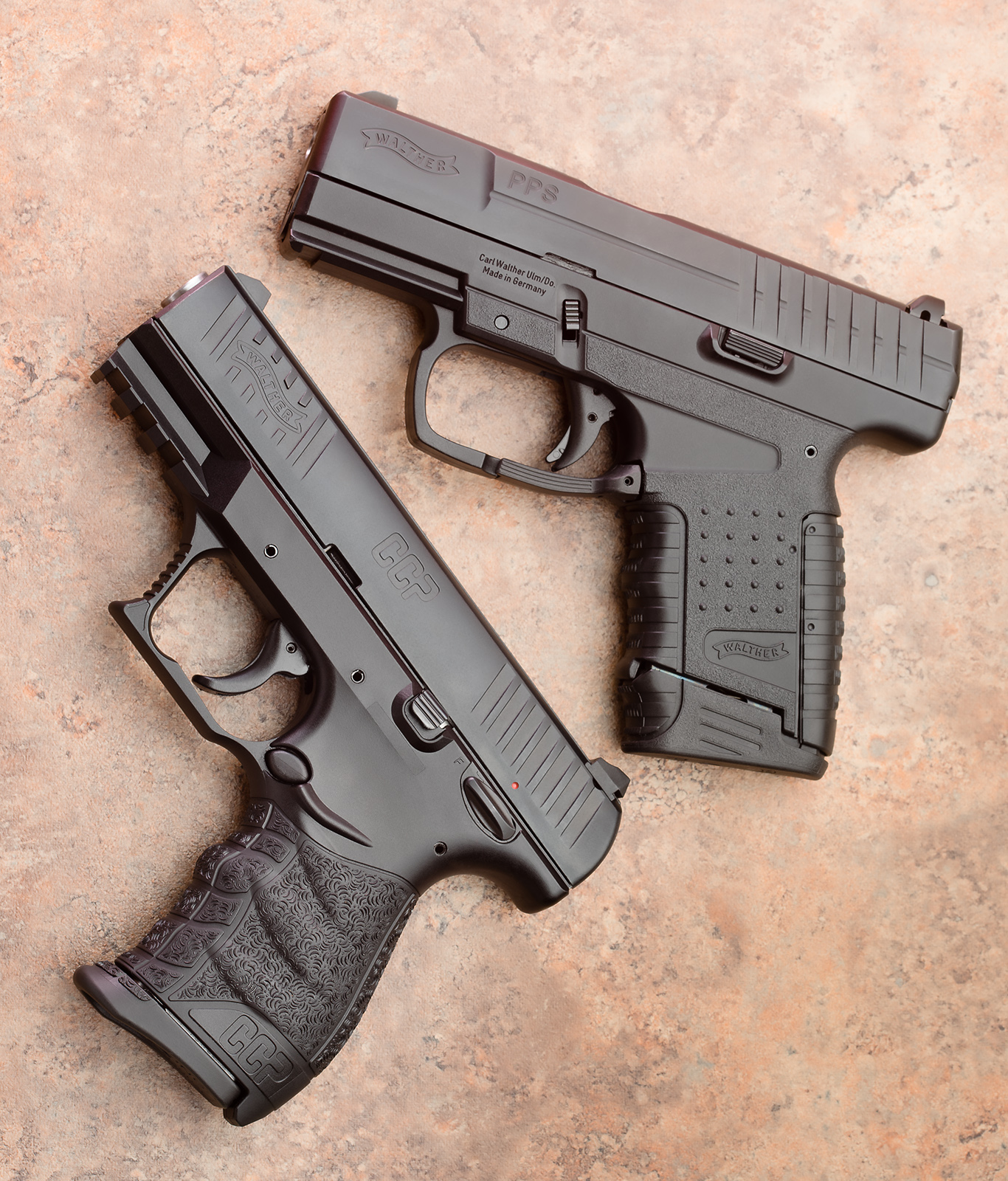 Walther CCP vs PPS: Same Goal, Different Ways to Achieve It