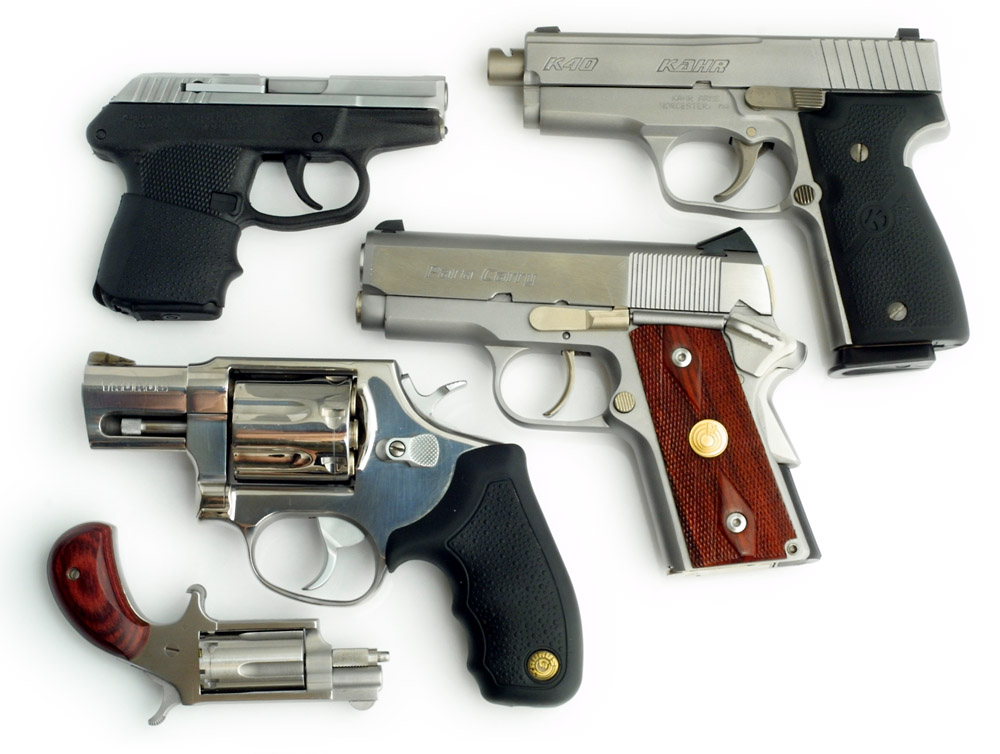 Selecting Handgun Pairs for Carry and Home Defense
