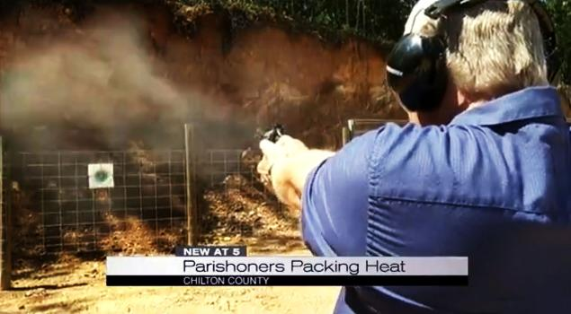 Church Shooting? Alabama Church Adds Gun Range Ministry